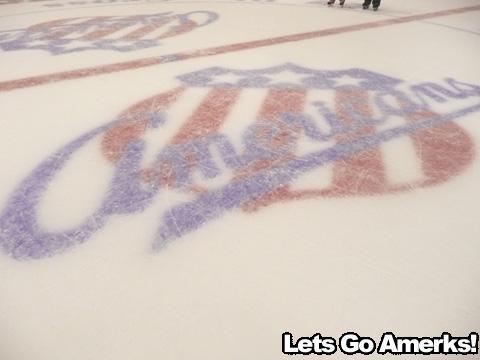 Amerks Logo Center Ice