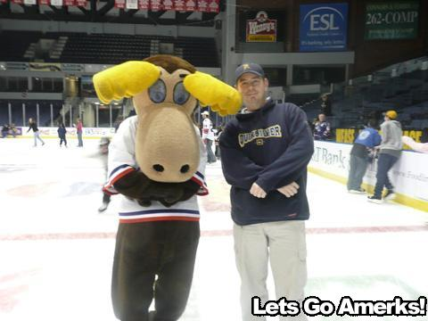 The Moose and A fan