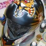 Tyler Plante Goalie Helmet