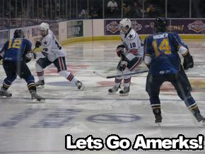 Amerks vs Rivermen