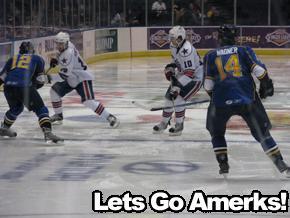 Amerks vs Rivermen
