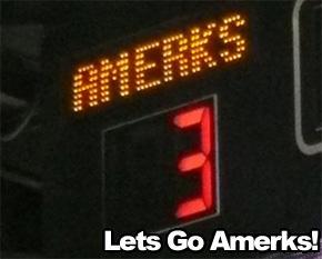 Amerks Scoreboard