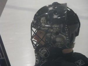 Alexander Salaks Goalie Helmet