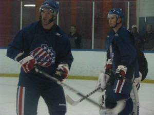 Mike Sgroi and Trevor Gillies
