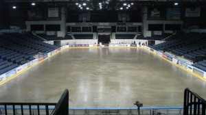 Cement floor being cooled down