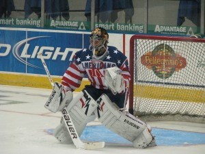 Tyler Plante of the Rochester Americans