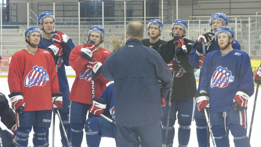 11-17-2009 Rochester Americans Practice