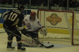 11-27-2009 Letstu Goal on Alexander Salak