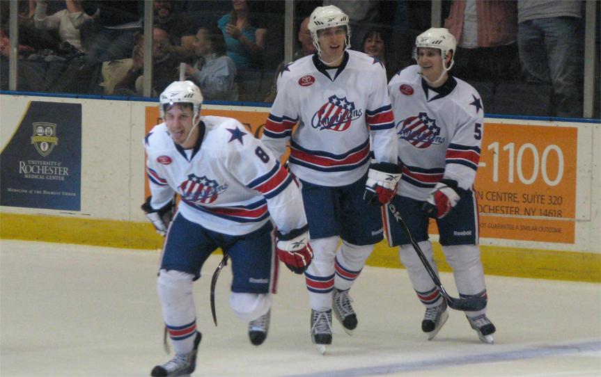 Keaton Ellerby Post Goal 11-20-2009