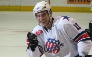 Brady Calla Goal vs Crunch 12-15-2009