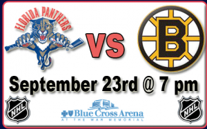 Panthers vs Bruins