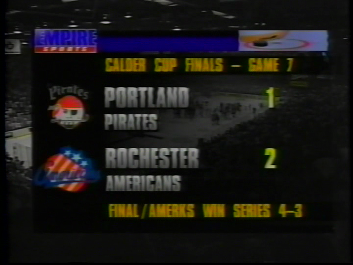 1996 Video Highlighting Amerks Calder Cup Win