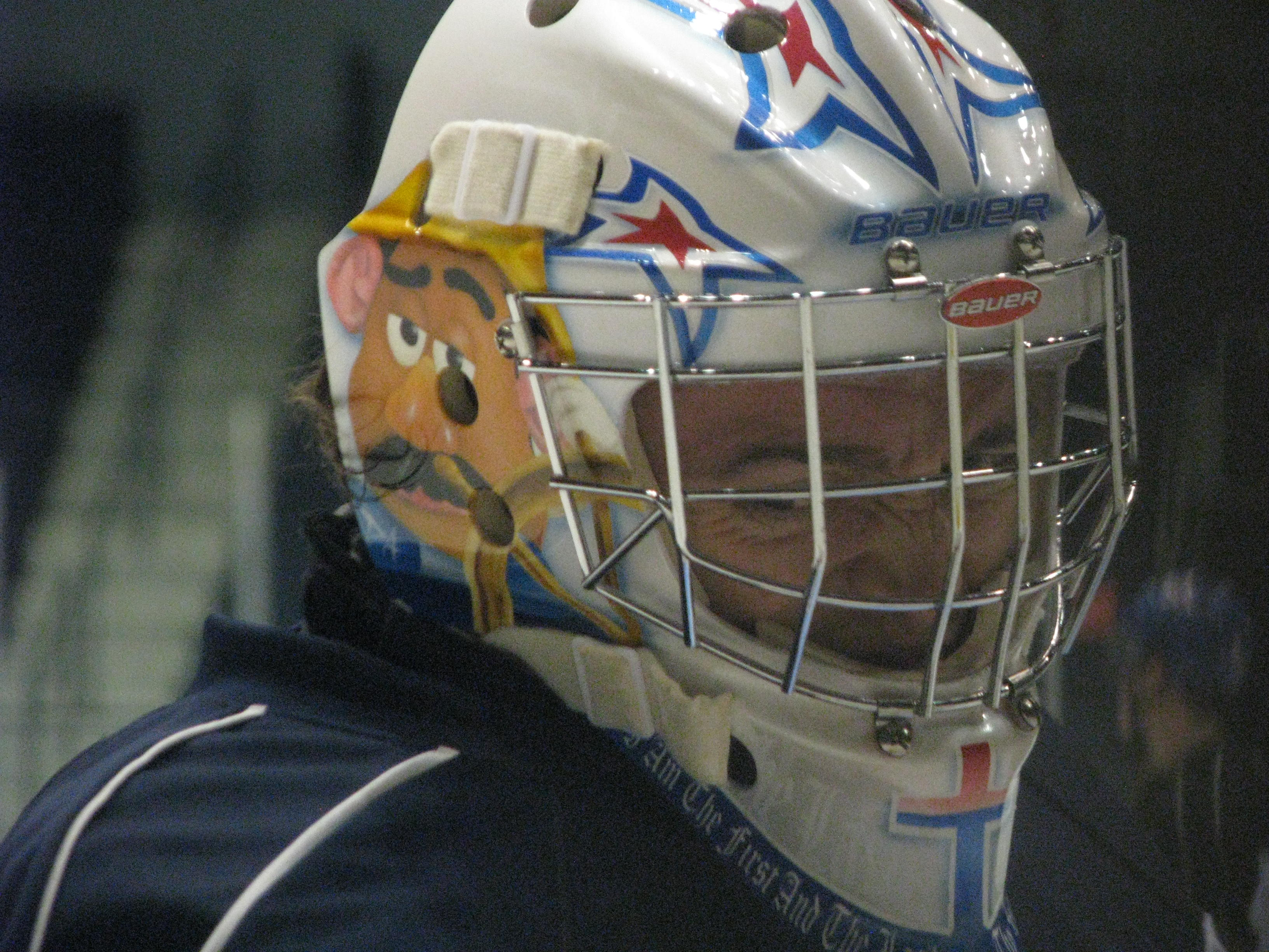 Drew MacIntyre's Lid Features Care Bears and Potato Heads