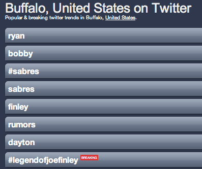 Amerks Defenseman is now The Legend of Joe Finley with the Sabres