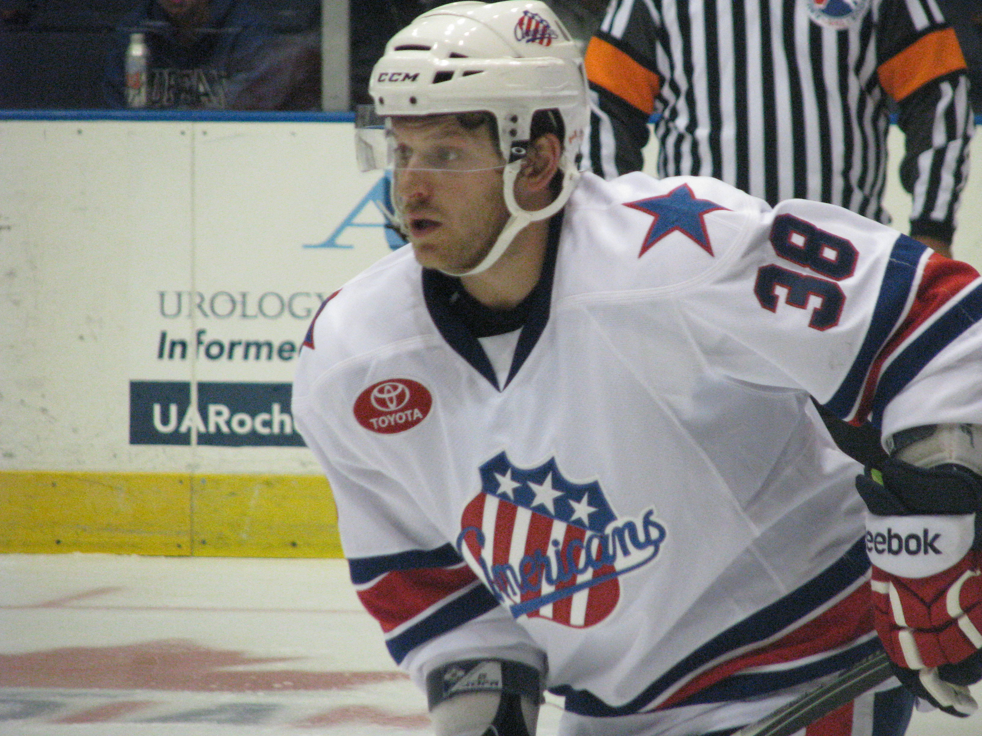 Crunch Tackled Two Goal Deficit but McNabb's First Won it in OT for Amerks