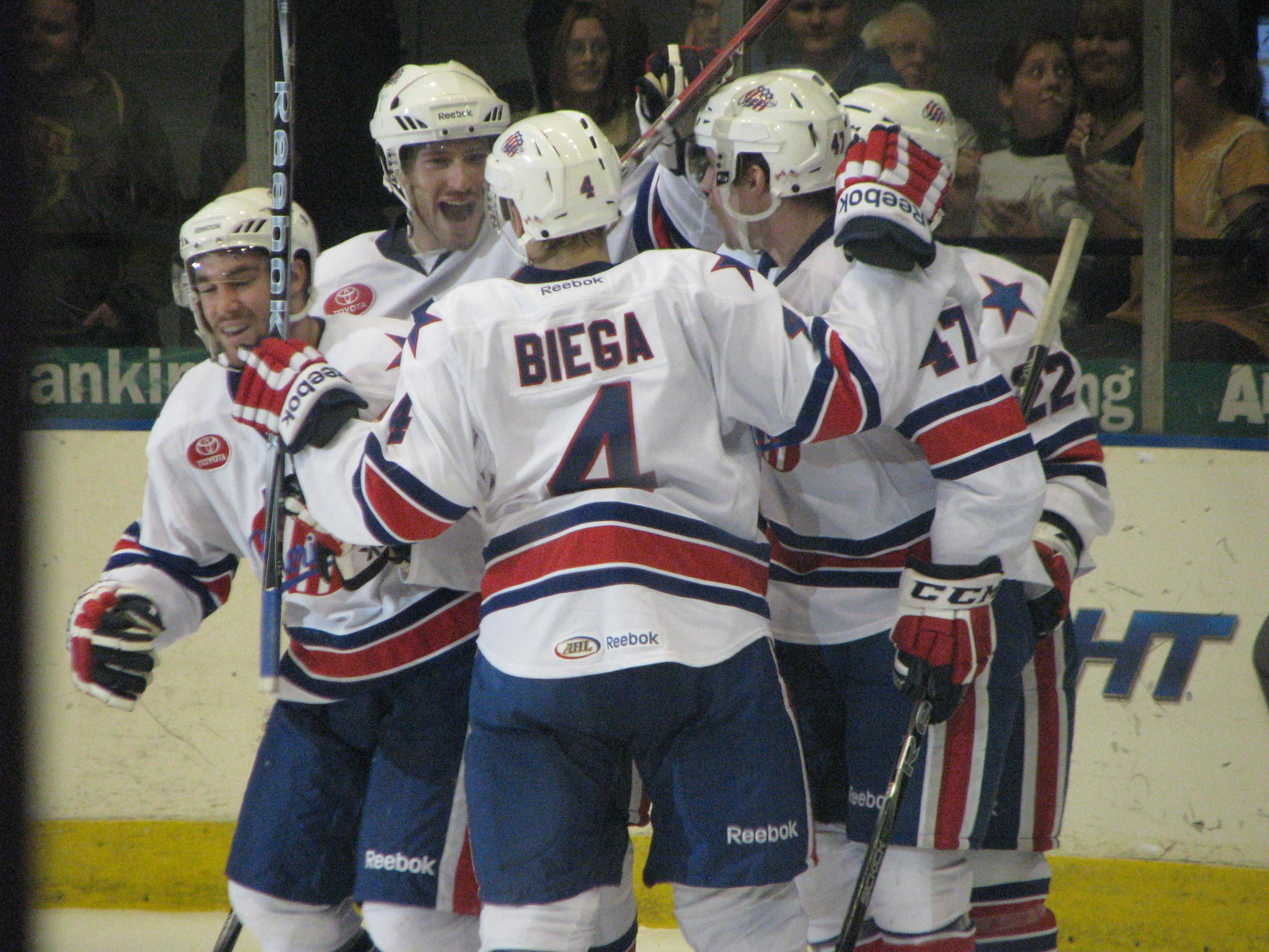 Amerks Team Effort Leads to Win Over the Devils