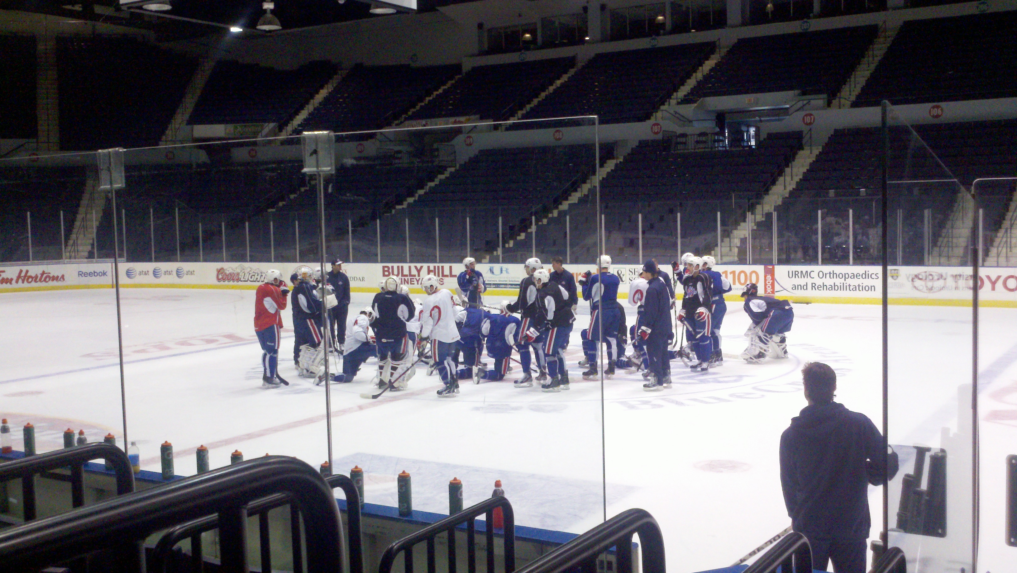 Amerks Injury Updates, MacIntyre is Back and The Positive Effect of Call Ups