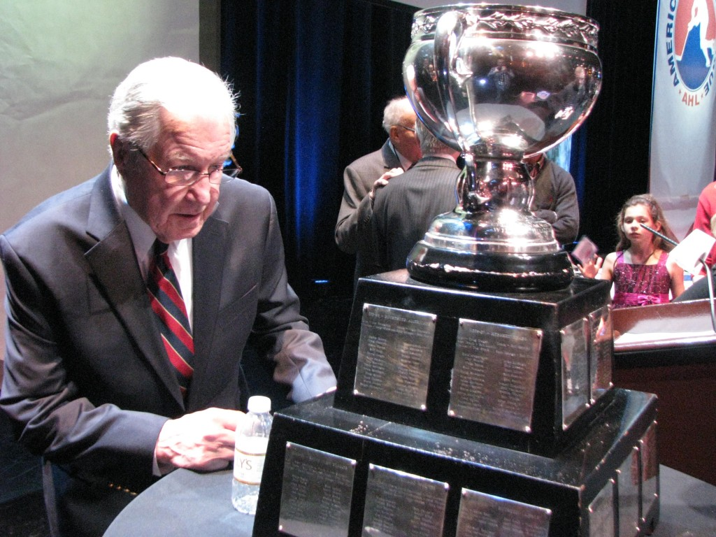 Joe Crozier and the Calder Cup