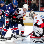 Varone and Leggio Lead Amerks to 3-2 Win Over B-Sens