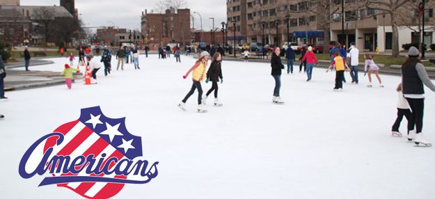 Amerks to Practice Outdoors on Monday Morning in Rochester