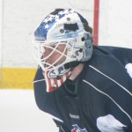 New Goalie Helmet for Amerks David Leggio