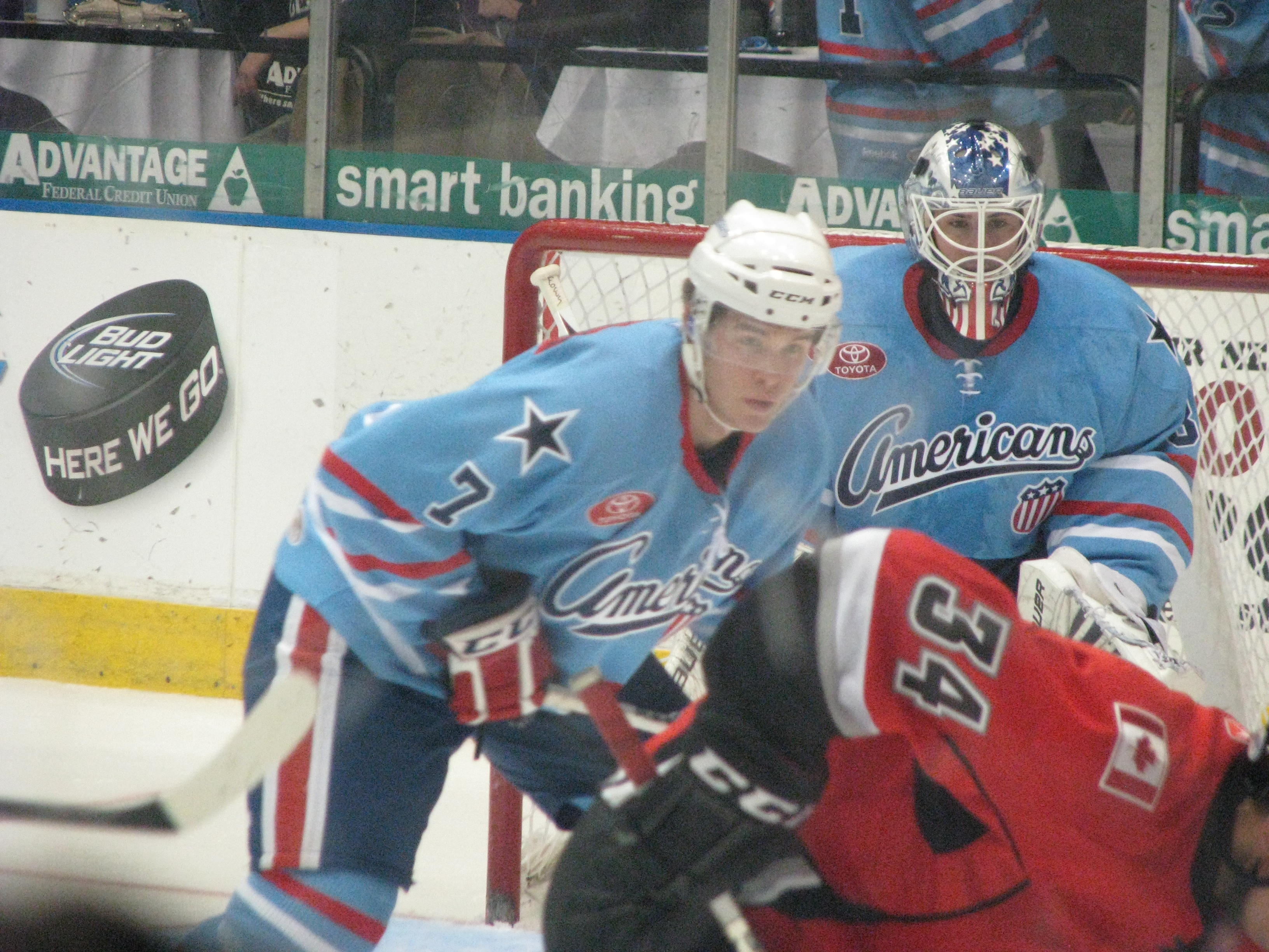 Leggio Earns the Amerks 3 out of 4 Points Against the Heat