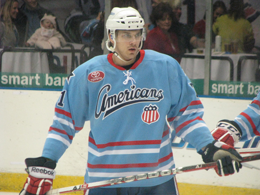 Foligno Back for his Final Games as a Rochester American; Tropp Sent Down Too