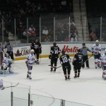 Amerks Lose in Shootout to the Crunch (with shootout and fight videos)