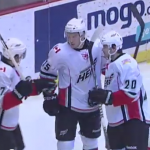 Amerks Loss to the Heat on Tuesday Night (with video)