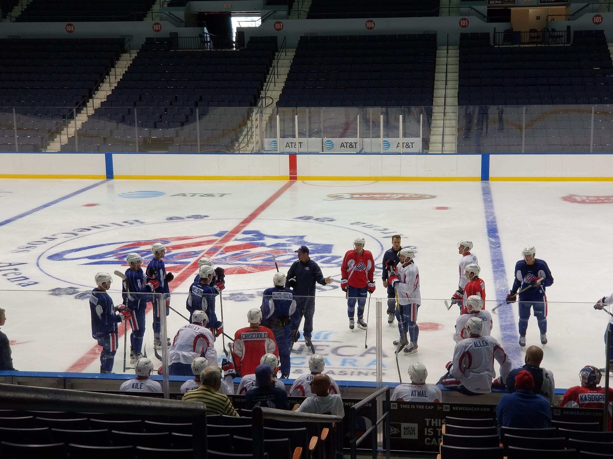 Day 2 of Amerks Training Camp and Some Lines
