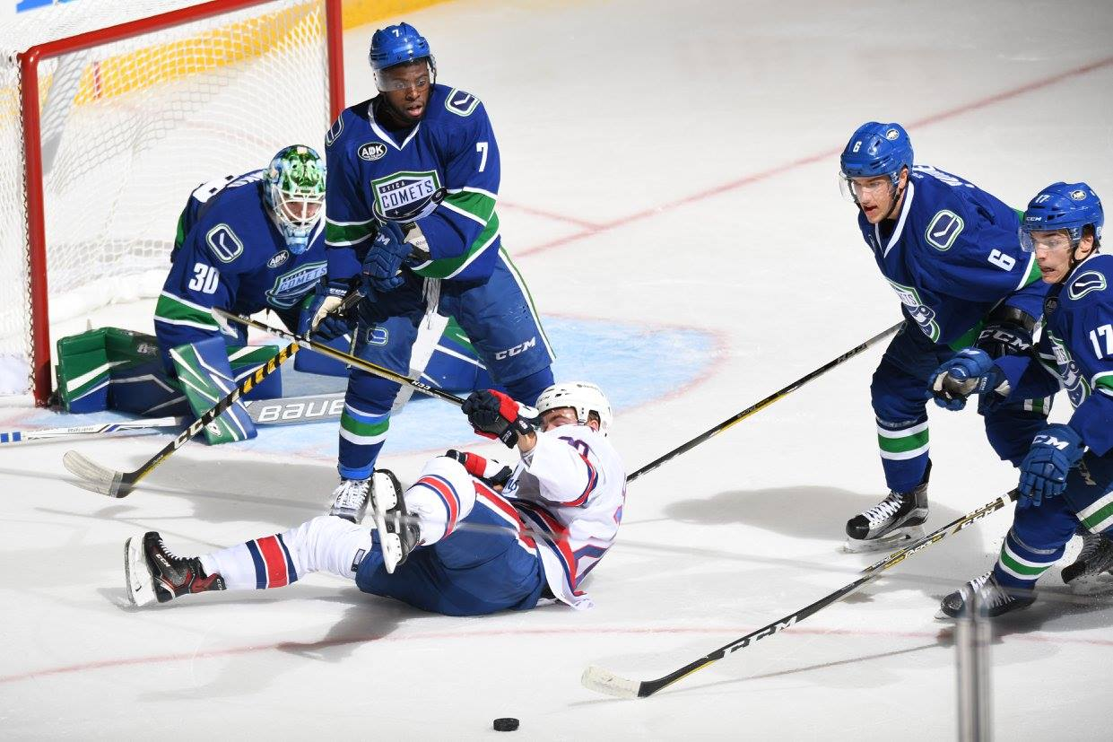 Game Recap and Notes: Flat on Friday the 13th, Paetsch Injured, Playing as a Team