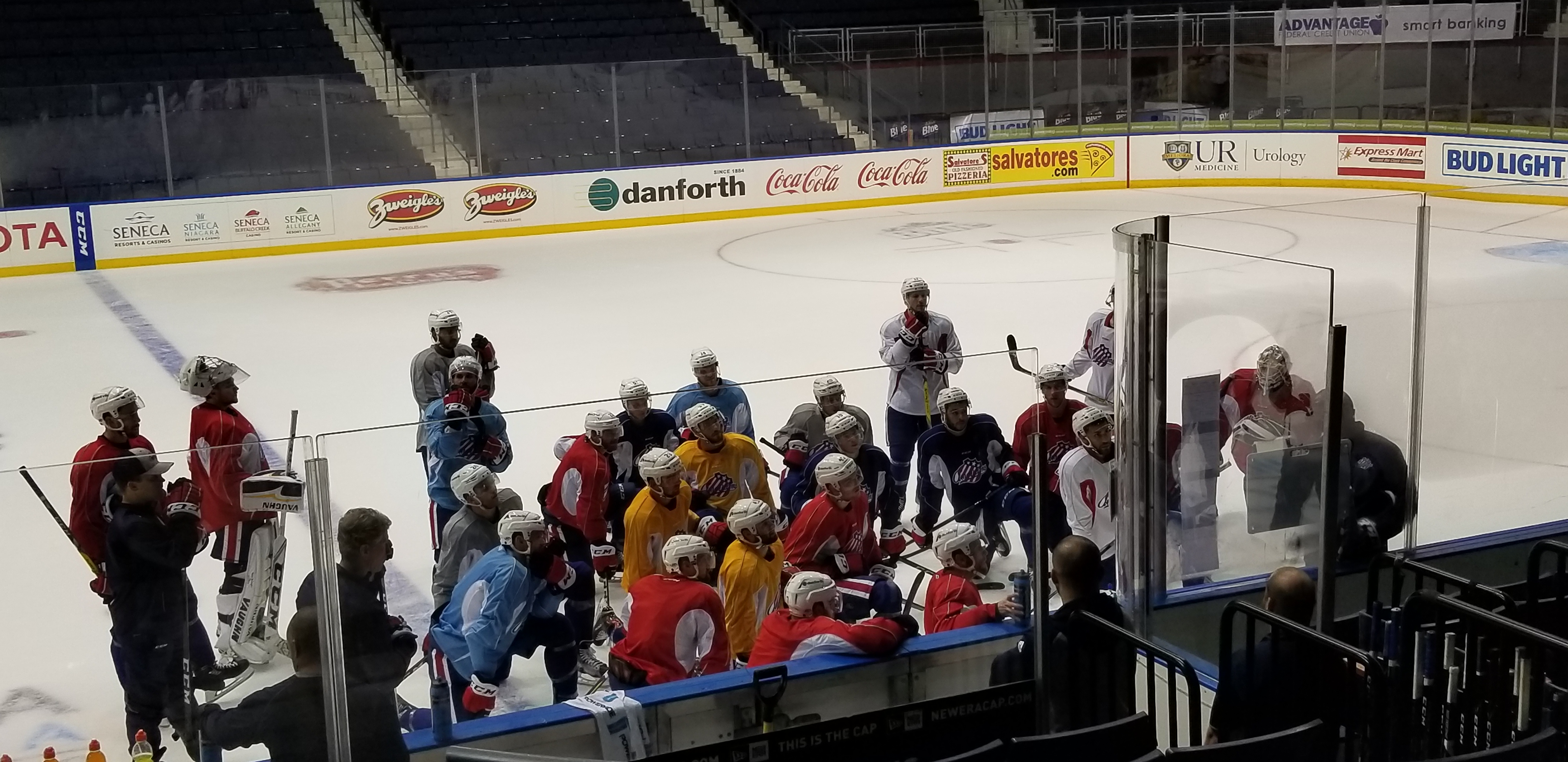 Chris Taylor on WGR550 Talking Systems, Tasks and Player Development