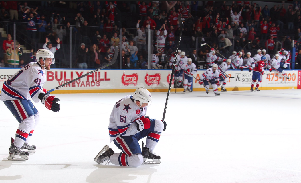 Amerks Play the Game and Comeback to Win in OT