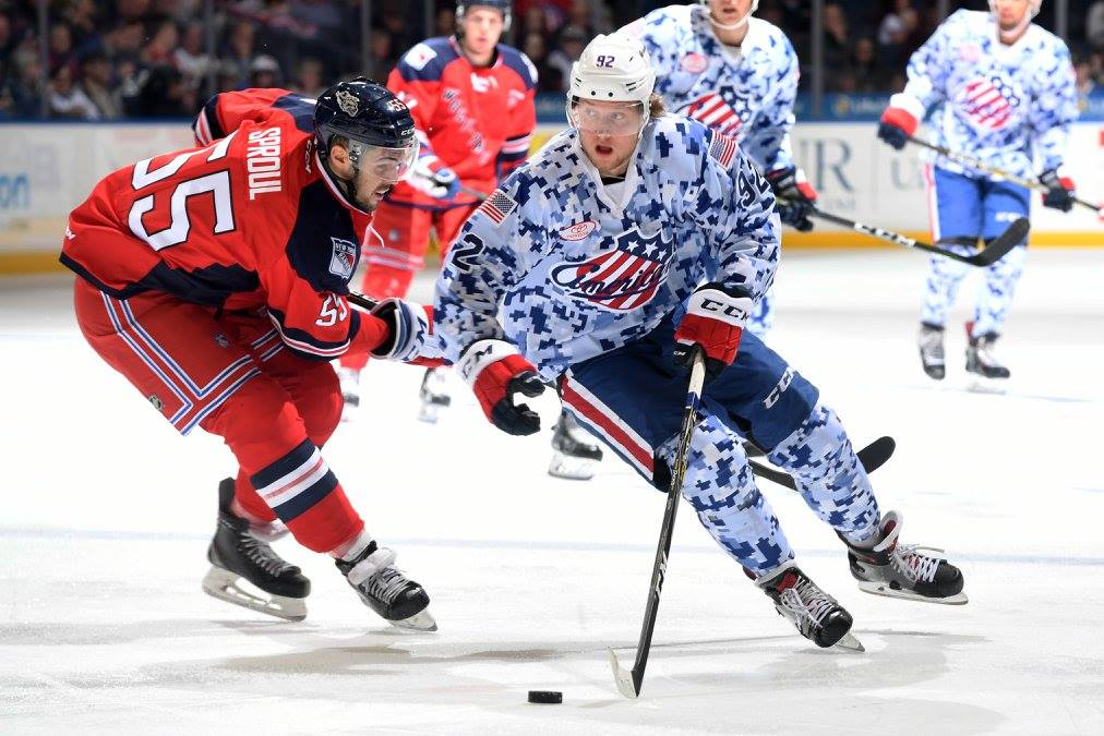 Amerks Won Again; A Suspension and Defensive Depth