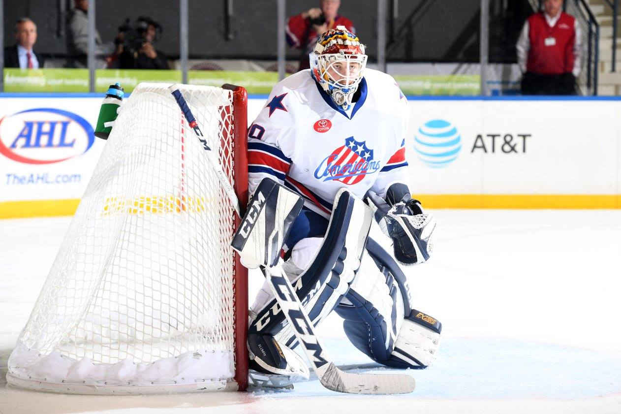 Recap: Ullmark and Percy Lead the Amerks to a Shutout Win