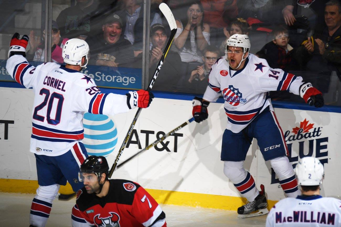 Amerks Win and Score 10 Goals for the First Time Since 2006