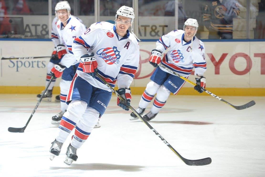 Amerks Sign Stuart Percy to an AHL Contract