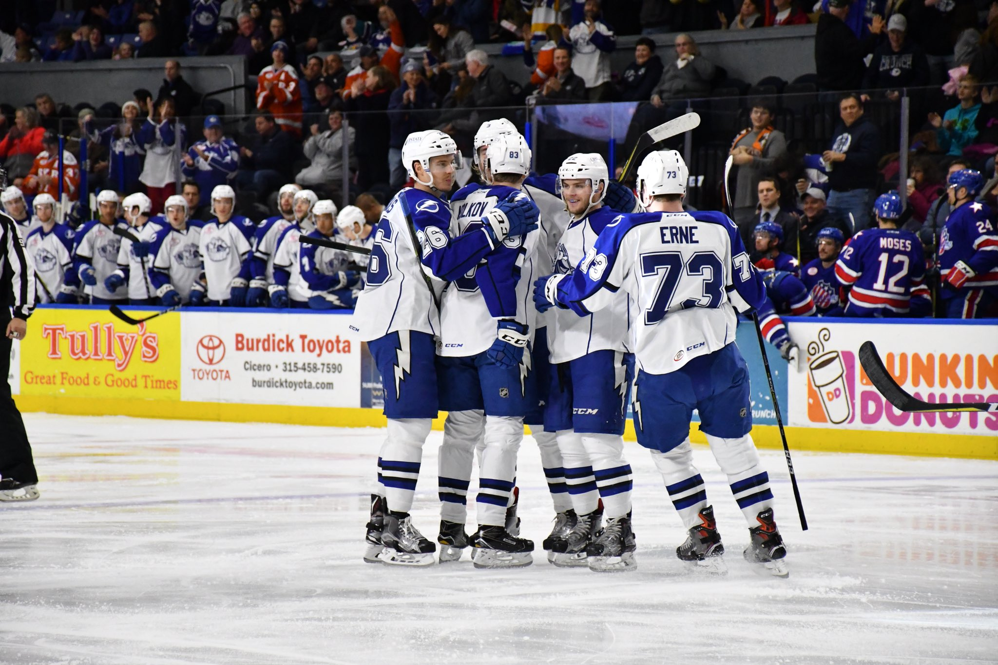 Amerks Lose Second in a Row on the Road