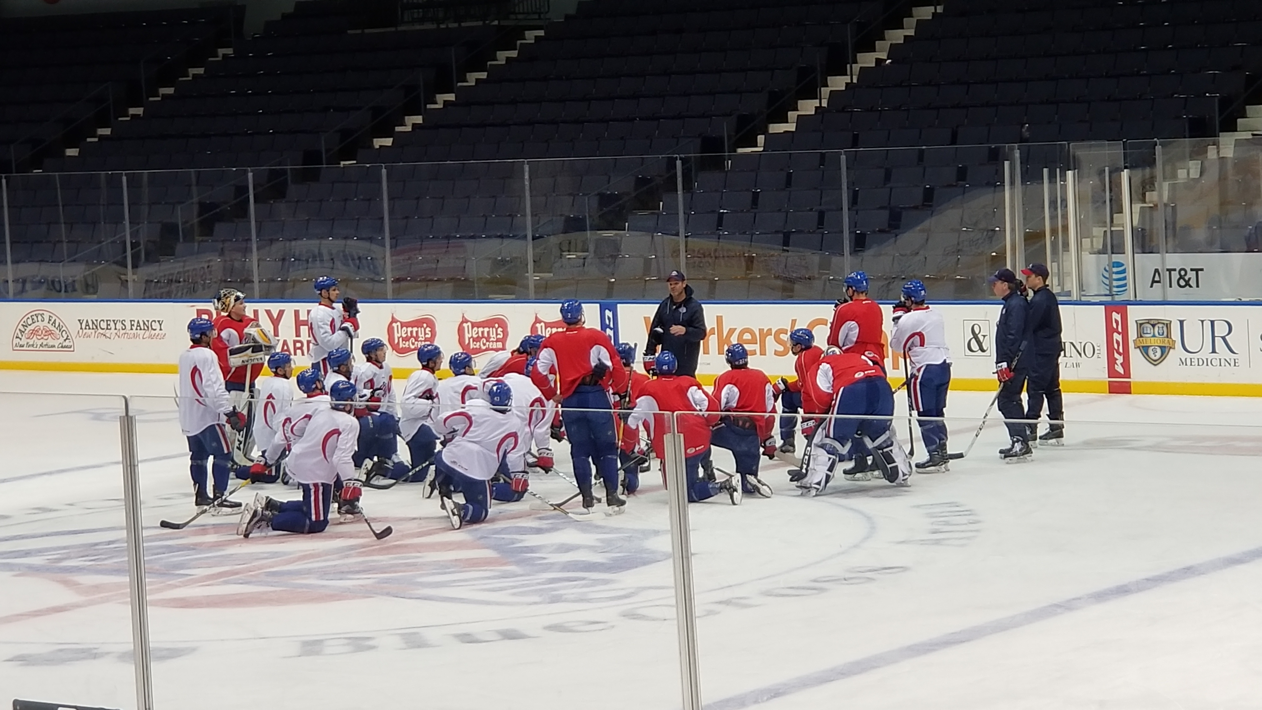 Amerks Gameday Notes: Tied for First on a Four Game Winning Streak