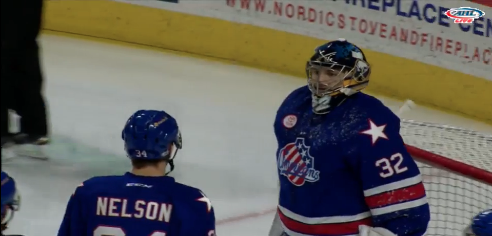 Wilcox and Redmond Lead Amerks to a Sunday Win