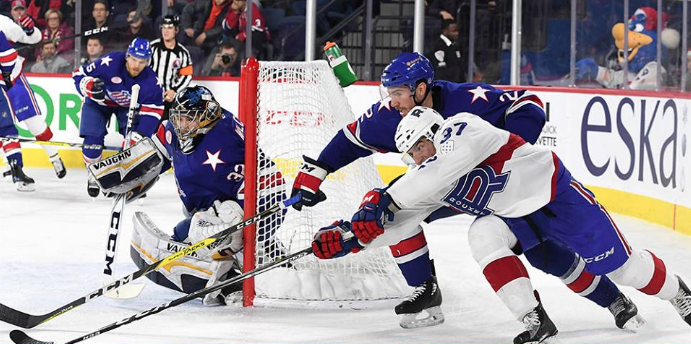 Amerks Win Again and are Tied in Points for First Place
