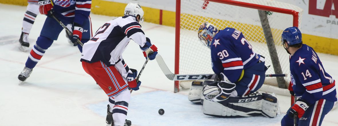 Wolf Pack Defeat the Amerks in a Shootout