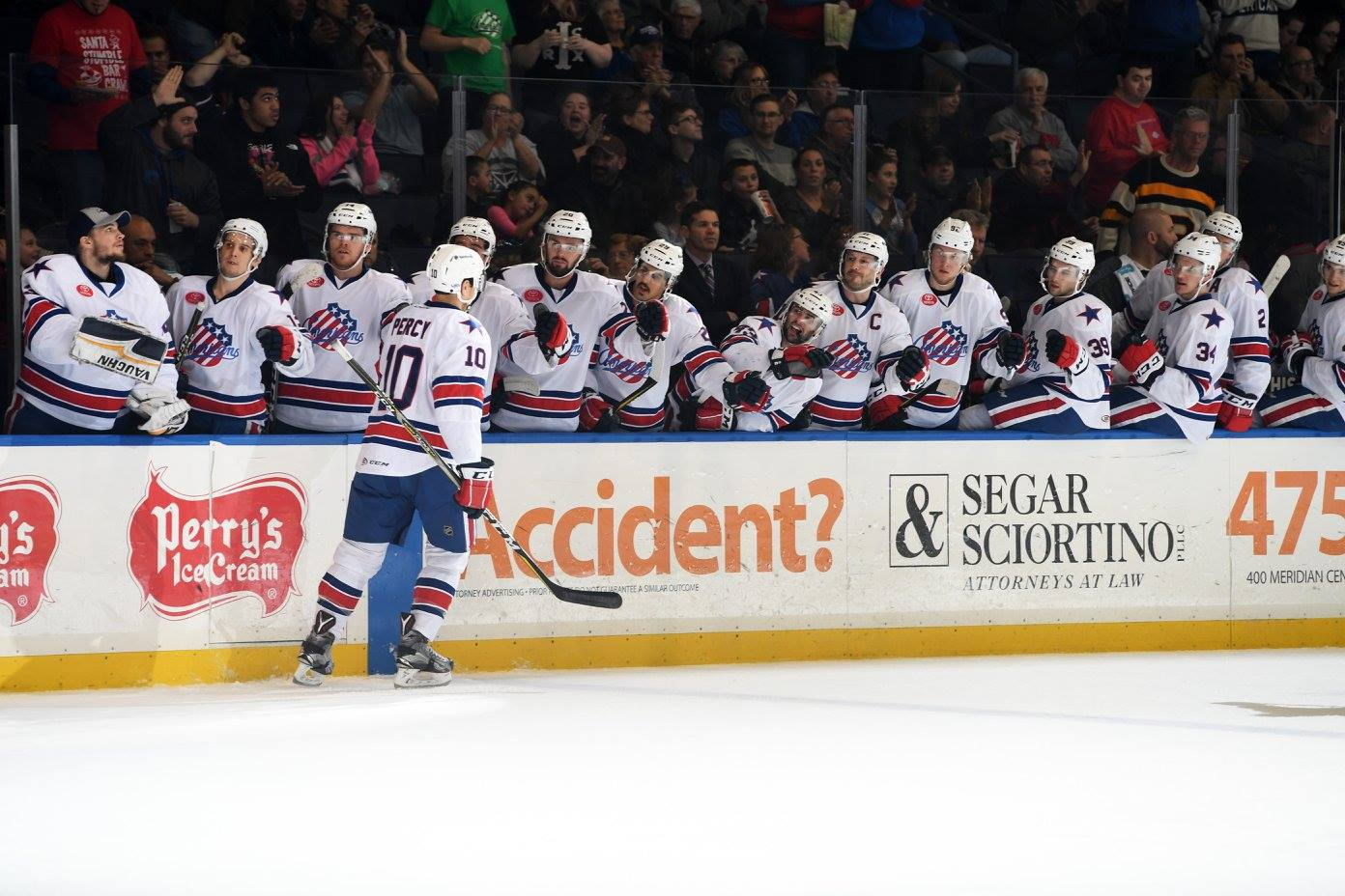 Recap: CJ Smith and Ullmark Lead Amerks to Win over Comets