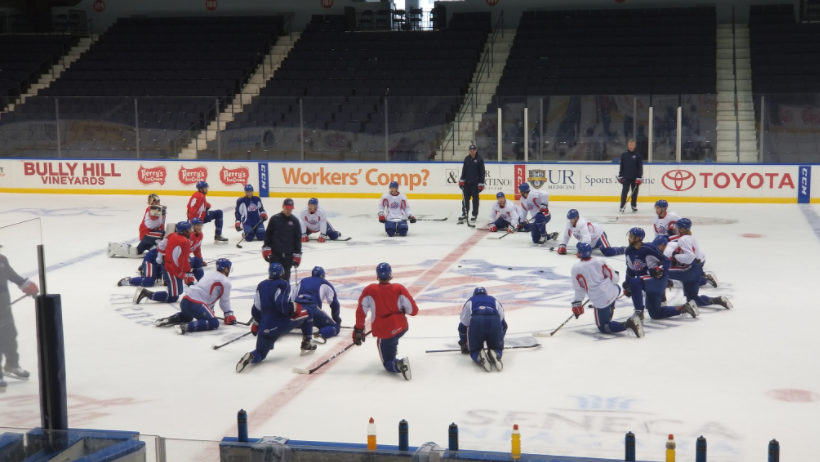 Gameday: Amerks at Marlies, Depth and Talking with Danforth