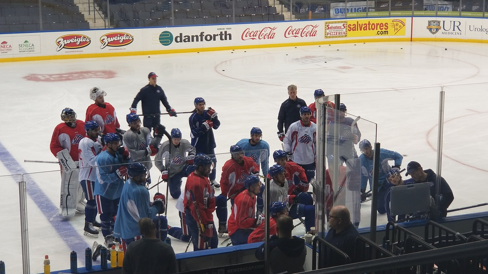 Amerks are Full of Opportunity; CJ Smith Injury
