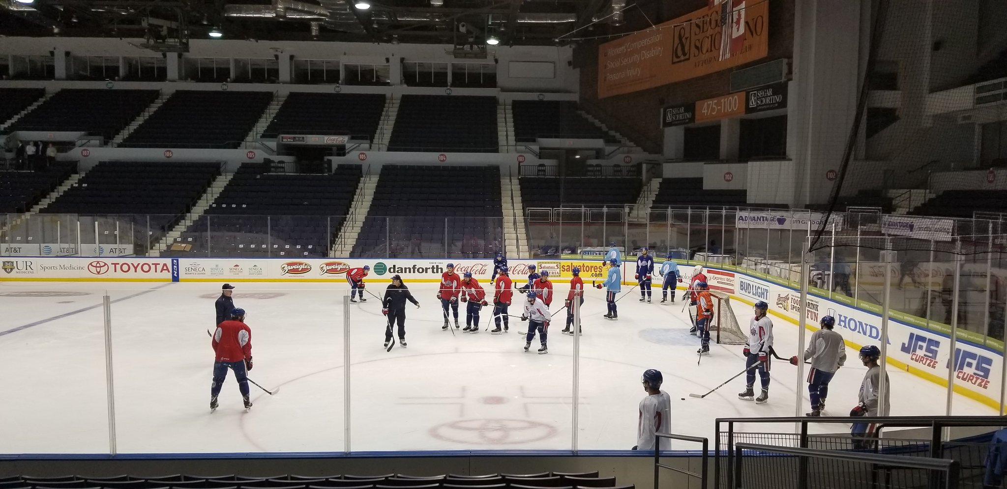 Amerks Focusing on Playing a Team Game