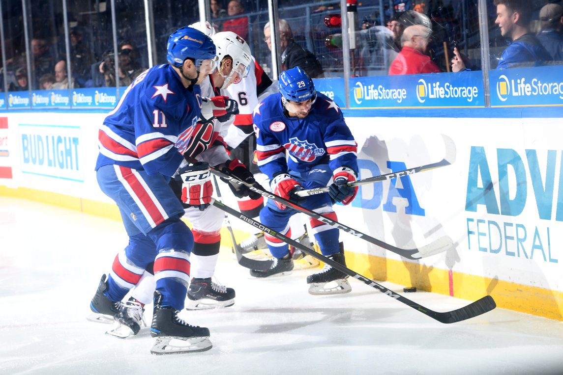 Amerks Shutout at Home in a Terrible Game