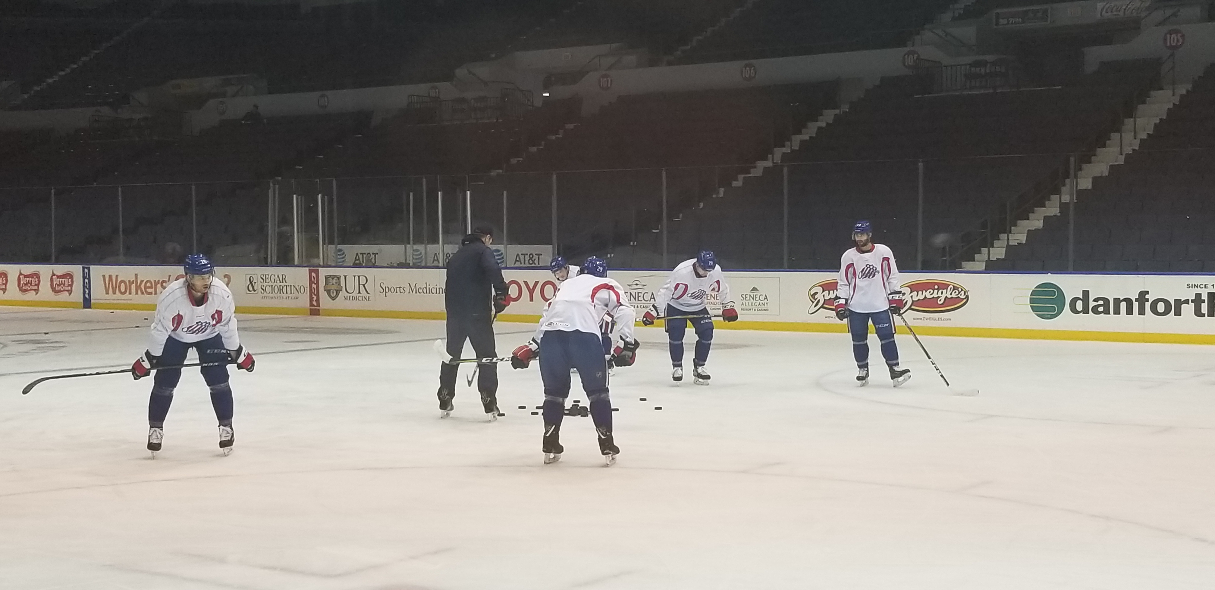 Amerks Talk About Clinching a Playoff Spot