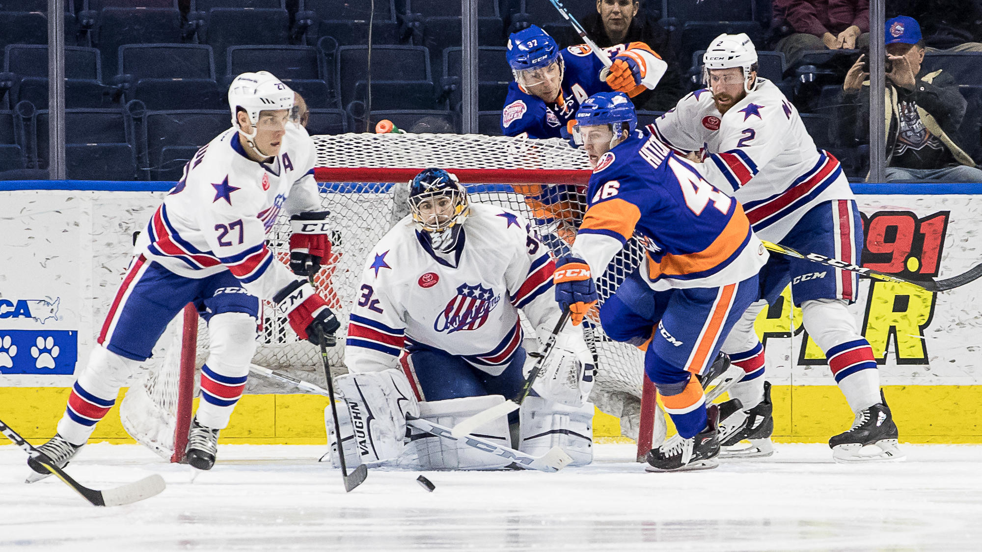 Amerks Lose after Giving Up a Four Goal Lead
