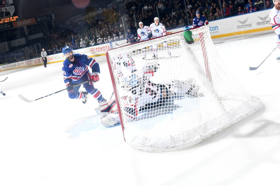 Amerks Clinch a Spot in the 2018 Calder Cup Playoffs